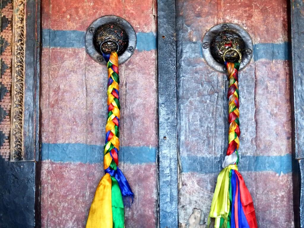 Ladakas. Šventyklos durys/