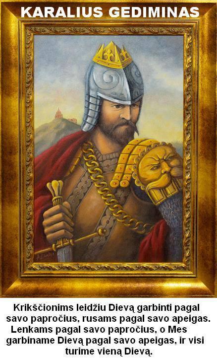 karalius Gediminas
